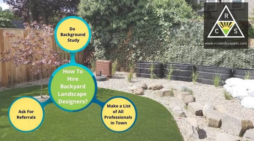 How To Hire Backyard Landscape Designers