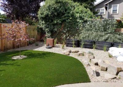 modern landscaping Portland