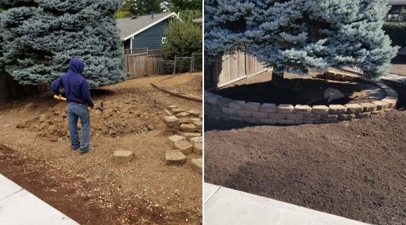Landscape Redesign and Installation in Portland OR