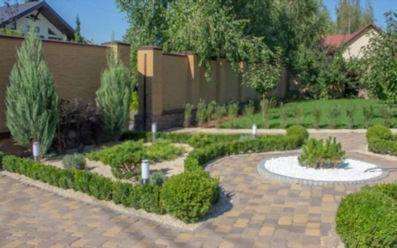 Process For Installing Concrete Landscape Edging