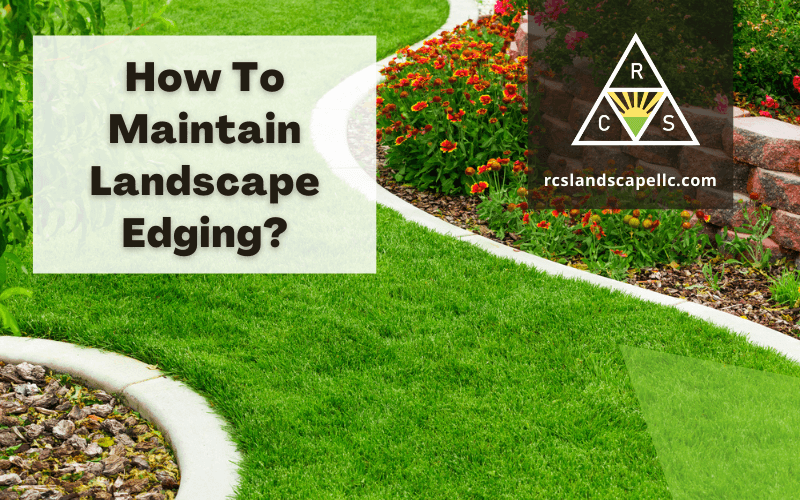 How To Maintain Landscape Edging?