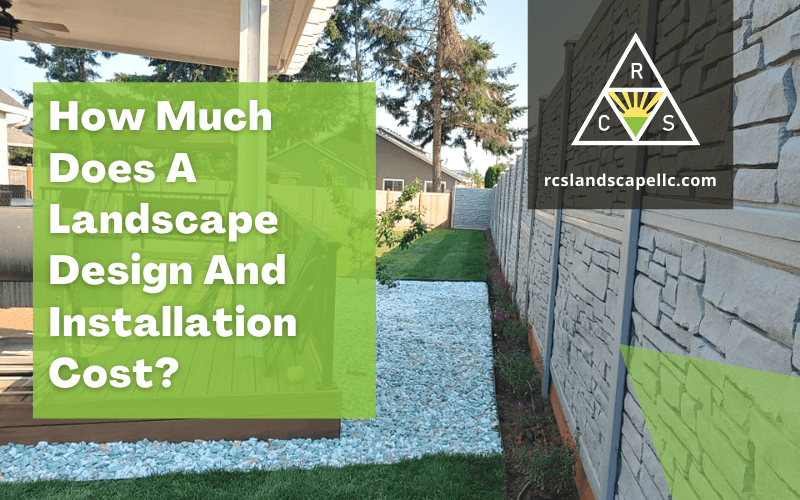 landscape design and installation cost