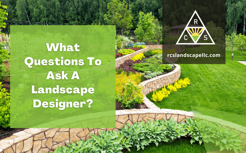 What Questions To Ask A Landscape Designer?